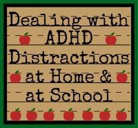 Let's Deal with Distractions---ADHD Strategies for Home & School http://helpforstrugglingreaders.blogspot.com/2014/07/lets-deal-with-distractions-adhd.html