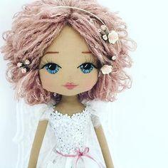 Upper Dhali - handmade dolls Australia bespoke doll keepsake doll custom doll heirloom doll Australian handmade made in Australia Homemade Dolls, Creation Couture, Doll Hair, Diy Dolls Hair, Sewing Dolls, Doll Tutorial, Fairy Dolls, Dolls Dolls, Soft Dolls