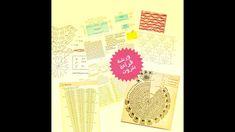 قراءة البترون الكروشية , رموز الغرز , البترون الأفقي , البترون الدائري Crochet Magazine