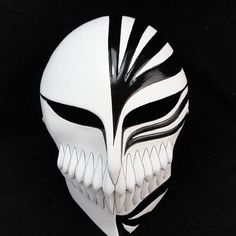 20PCS High Quality Death mask ghost step dance ichigo kurosaki mask Halloween Mask bleach ichigo hollow mask cosplay free shipping in stock