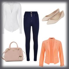 Untitled #12 by mozes-katalin on Polyvore featuring polyvore, fashion, style, James Perse, maurices, Topshop and Furla