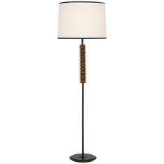 Robert Abbey Rico Espinet Plato Brass Floor Lamp 121