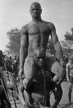 George Rodger  SUDAN. Kordofan. The Nubas. 1949