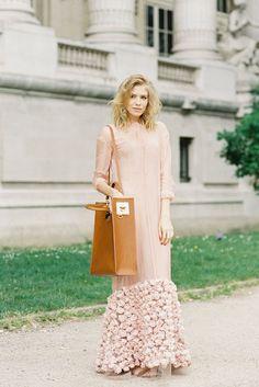 Maxi Dress in nude pink-Vanessa Jackman: August 2012