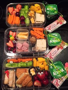 Whole days worth. Minus the bread Lunch Meal Prep, Healthy Meal Prep, Healthy Snacks, Healthy Eating, Healthy Recipes, Lunch Time, Lunch Snacks, Lunch Recipes, Prepped Lunches