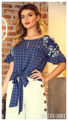 LOOKBOOK 7 – Cora Canela Big Girl Fashion, Curvy Women Fashion, Plus Size Fashion, Womens Fashion, Classy Casual, Classy Outfits, Blouse Styles, Blouse Designs, Boho Summer Outfits