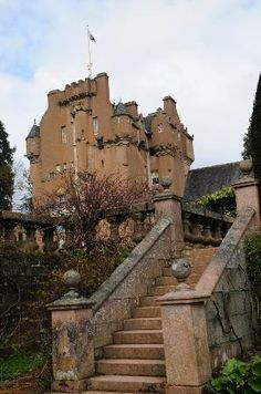 Crathes Castle, Aberdeenshire Scotland - Built by my ancestors, the Burnetts in the 1500s.