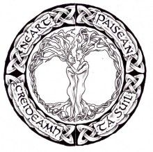 Celtic Tree Of Life Tattoo Design
