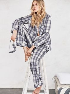 Clothing, Shoes & Accessories Sleepwear & Robes Walter Grange Mens Checked Traditional Yarn Dyed Flannel Woven Pyjama Lounge Set Factories And Mines