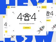 Dribbble - Heyllow New Website by Valentine Boyev