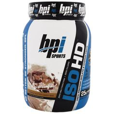 BPI Sports, ISO HD, 100% Protein Isolate & Hydrolysate, Peanut Butter Candy Bar, 1.8 lbs (816 g)