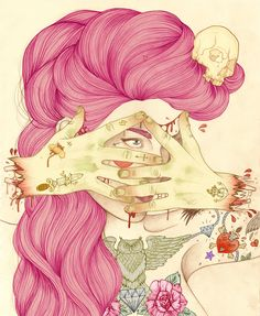 Liz Clements - Don't Look At My Crazy Pink Hair, Man