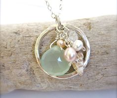 Hawaiian shell beach necklace  Made in Hawaii jewelry by Tidepools