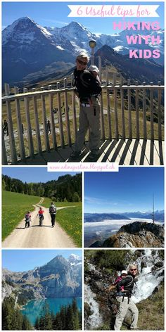 6 Tips for hiking with kids - 6 tipů, jak zvládnout turistiku s dětmi Hiking With Kids, Travel With Kids, Family Travel, Hiking Tips, Travel News, Preschool Activities, Switzerland, Things To Do, Zurich