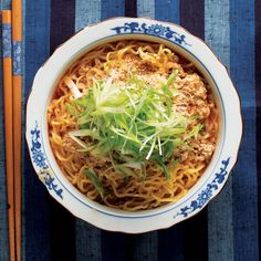 Tantanmen (Sesame and Chile Ramen) - We got this recipe—a sesame and chile-spiked ramen dish—from cookbook authors Tadashi Ono and Harris Salat.