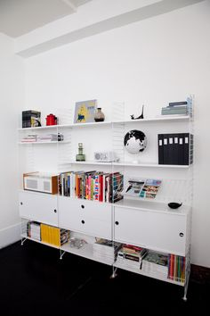 """The perfect shelving system -- """"STRING"""" -- and not sold in the US! Boo!"""