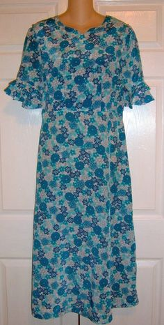 "Amish #Mennonite Modest Handmade Cape Dress 38"" Bust /32"" Waist  #Handmade #Cape #Casual"