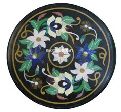 """12"""" Marble Bedroom Coffee Table Top Marquetry Inlay Mosaic Arts Home Decor H2436 on eBay: https://t.co/xk0wGnVAOi https://t.co/BkBE85B1k6"""