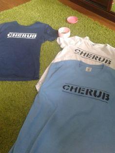 """""""CHERUB"""" - Robert Muchamore inspired T-shirts"""