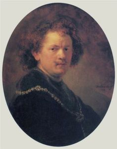 Rembrandt, Self-portrait, 1633, panel, Louvre
