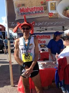 We had a blast at the 7-Mile Bridge Run in Florida! For delicious rice recipes, click on the photo.