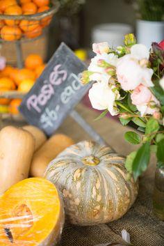 Fresh pumpkins at the Farm Stall