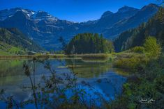 Lake Lenk in Simmental. Mountains, Nature, Travel, Switzerland, Nice Asses, Naturaleza, Viajes, Trips, Nature Illustration