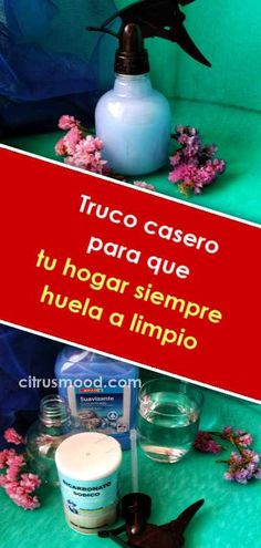 Truco casero para que tu hogar siempre huela a limpio - Marcela Hidalgo T. Truco casero para que tu hogar siempre huela a limpio - Marcela Hidalgo Truco casero para que tu hogar siempre huela a limpio - Marcela Hidalgo de bricolaje de bricolaje House Cleaning Tips, Cleaning Hacks, Diy, Luxury Furniture, Housekeeping, Clean House, Decoration, Smoothies, Life Hacks
