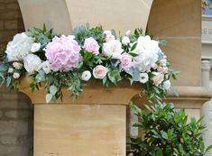 Match Your Wedding Flowers to the Season | Pale pink hydrangea flowers by The Bespoke Florist