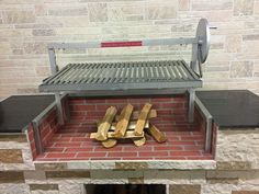 Gaucho Grande with Wood 12 x Clean Grill, How To Grill Steak, Argentine Grill, Outdoor Grill Station, Grill Plate, Stainless Steel Grill, Drip Tray, Fireplace Wall, Gaucho