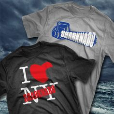 SHARKNADO2 T-SHIRTS! Check'm out at www.gosteward.com #sharknado #shardnado2 #tshirts