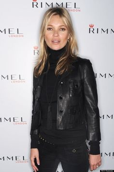 Kate Moss launches her new nail polish collection with Rimmel, London, Britain - 30 Jan 2013