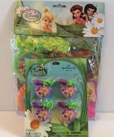 Disney Fairies Fairy 52 Pc Party Favors 8 Goody Bags Toy Carnival Prize Tink New