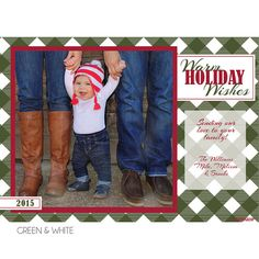 Lumberjack Holiday Photo Card by KateOGroup on Etsy