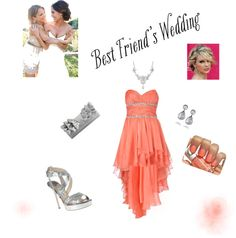 best friends wedding, created by mayrentejeda on Polyvore