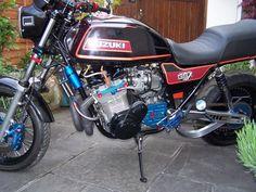 Related image Hunter Thompson, Suzuki Motorcycle, Old Skool, Motorbikes, Sushi, Motorcycles, Image, School, Bag