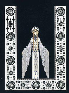Art Deco Artists | Venere in Pelliccia