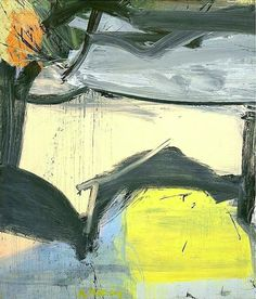 Willem de Kooning (Dutch American [Abstract Expressionism] Plus Willem De Kooning, Rotterdam, Expressionist Artists, Abstract Expressionism Art, Jackson Pollock, Abstract Landscape, Abstract Art, Example Of Abstract, Franz Kline