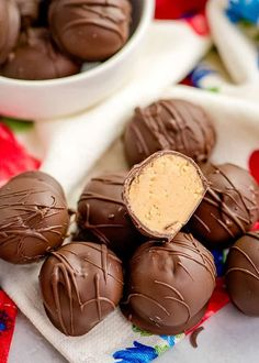 Peanut Butter Balls are such a rich and creamy no bake peanut butter and chocolate dessert. A velvety smooth peanut butter filling dipped in chocolate almond bark. Sink your teeth into these bite-sized balls for the ultimate Christmas treat. Get more of my candy recipes too. Peanut butter and chocolate that is a combination that... Read On → The post Peanut Butter Balls appeared first on Cookie Dough and Oven Mitt.