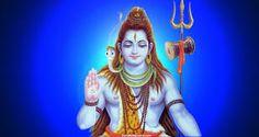 Shiva em abaya mudra ( gesto de não tenha medo) abençoando
