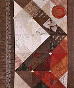 Art quilt by Mirka Knaster