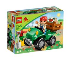 DOMINIK Lego Duplo 5645 Farmářova čtyřkolka