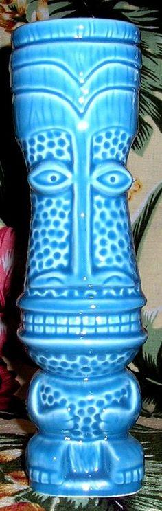 Shag Tall Ratongo Blue - Ooga-Mooga! Tiki Mugs & More
