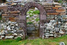 Medieval doorway, Dingle, Co. Kerry, Ireland