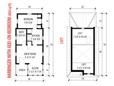 harbinger house floor plan tumbleweed tiny house company