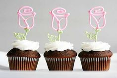 Flower Flower Cupcakes! (Two ways!)