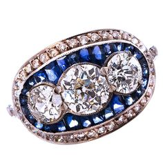 I adore estate jewelry.  This piece is so gorgeous!