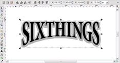 arching text in inkscape