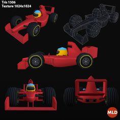 Low Poly Formula 1