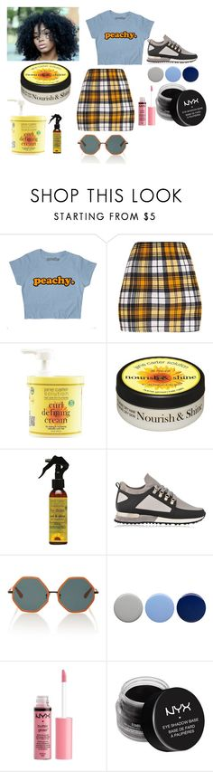 """""""Can't Wait for Summa"""" by justina-daniels on Polyvore featuring Jane Carter Solution, MALLET, Rosie Assoulin, Burberry, Charlotte Russe and NYX"""